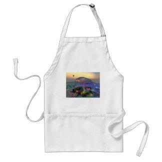 3d art magic crater standard apron