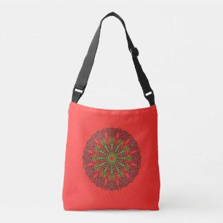3D Art Mandala Cross Body Bag