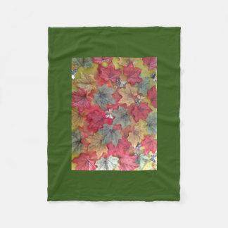 3d autumn leaves blanket