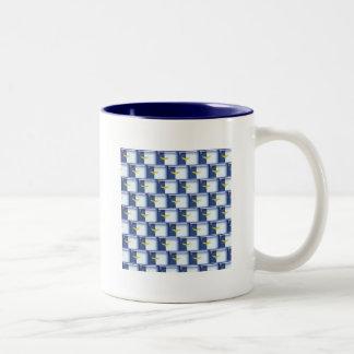3D Azores flag pattern Two-Tone Mug