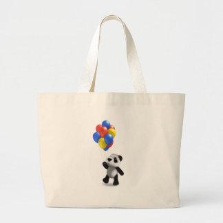 3d Baby Panda Balloons Bags