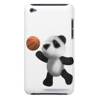 3d Baby Panda Basketball iPod Touch Covers