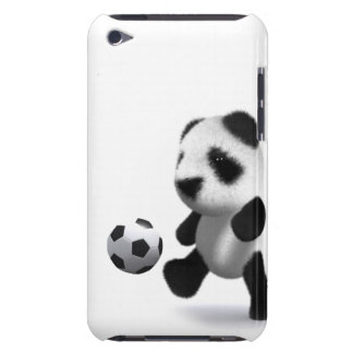 3d Baby Panda Football Barely There iPod Cover