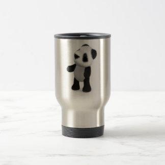 3d Baby Panda Looks Up Coffee Mugs