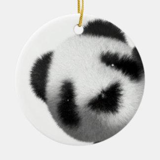 3d Baby Panda Peeps Christmas Ornament