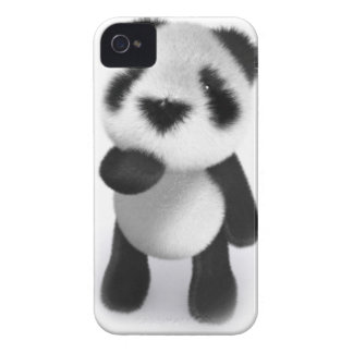 3d Baby Panda Watches iPhone 4 Case