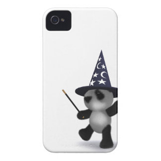 3d Baby Panda Wizard Case-Mate iPhone 4 Cases