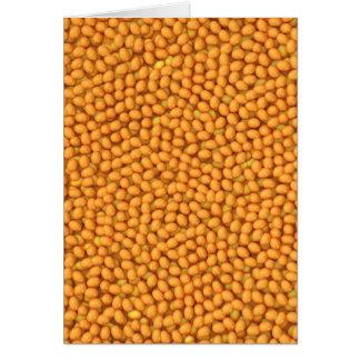 3d Baked beans Card