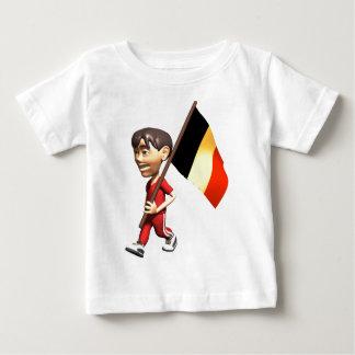 3D Belgium Baby T-Shirt
