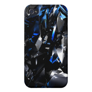 3D blue crystals iphone Speck Case iPhone 4 Case