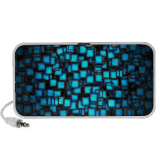 3d-blue vector art iPhone speakers