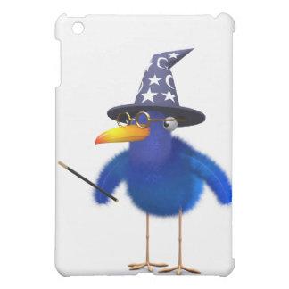 3d Bluebird Cute Wizard iPad Mini Covers
