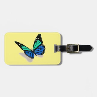 3D butterfly Luggage Tag