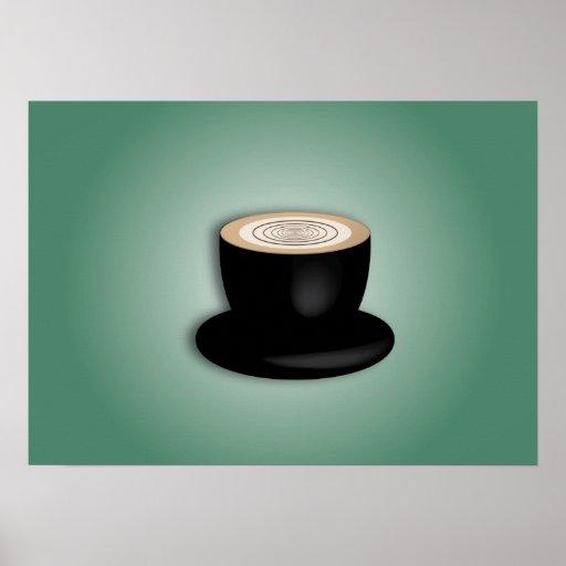 3D Cappuccino Print