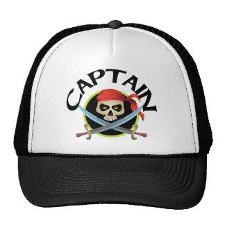 3D Captain Cap