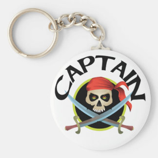 3D Captain Key Ring