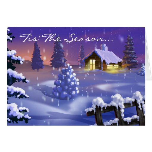 3d christmas greeting card zazzle for Christmas card 3d designs