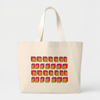 3D Cool Cubes Optical Illusion Tote Bags