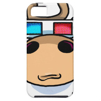 3D Cow specs Case For The iPhone 5