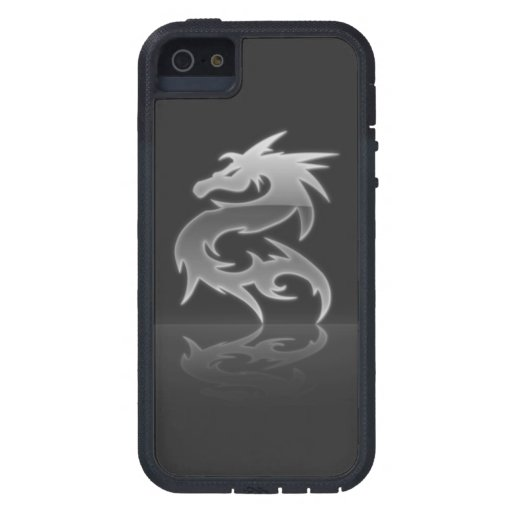 3d Crystal Dragon iPhone 5 Cases