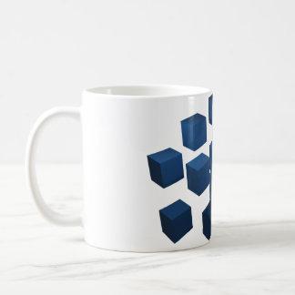 3D Cube designed mug