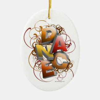 3D Dance (Fall) Christmas Ornament
