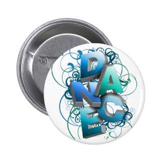 3D Dance (Spring) 6 Cm Round Badge