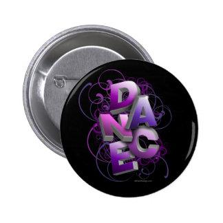 3D Dance (Summer) 6 Cm Round Badge