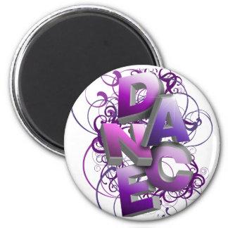 3D Dance (Summer) 6 Cm Round Magnet