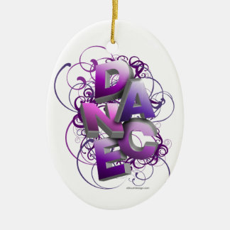 3D Dance (Summer) Christmas Ornament
