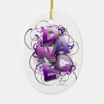 3D Dance Summer Christmas Ornament