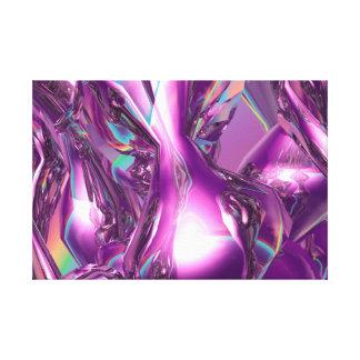 3D Digital Abstract Canvas Art Print - Abstract 01