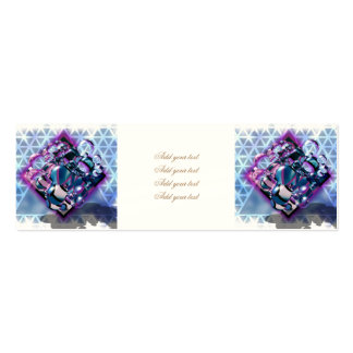 3D,digital graphic design,colorful,sci fi,futurist Pack Of Skinny Business Cards