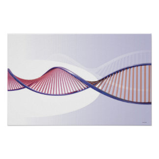 3D DNA Sweep Poster
