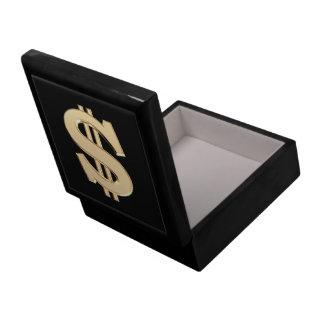 3D dollar sign Gift Box