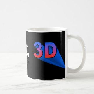 3D (double sided) Basic White Mug