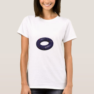 3d Doughnut shaped universe. T-Shirt