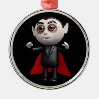 3d Dracula Stands! Christmas Ornament
