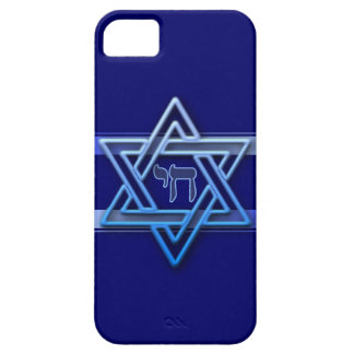 3D Effect Star of David & Chai iPhone 5 case