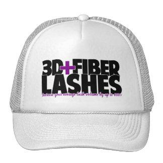 3d + Fiber Lashes Trucker Style Hat