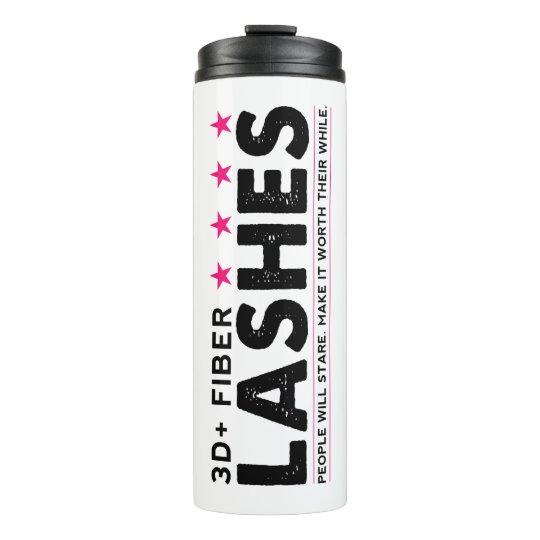 3D + Fibre Lashes - Thermal Tumbler