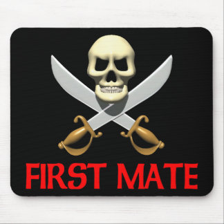 3D First Mate Mouse Pad