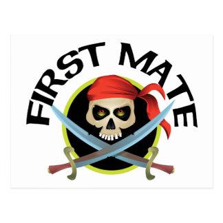 3D First Mate Postcards