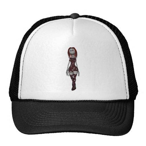 3D Freaky Bonga Doll - Redhead Hats