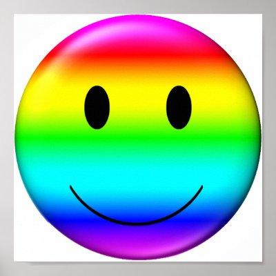 3d gay pride smiley poster r2ded3359913c4fd5ae70aff1fffd8a72 awet 400 Steve O? Elisabetta Canalis