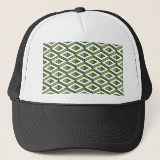 3d geometry greenery and kale trucker hat