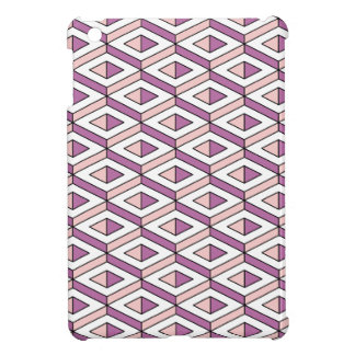 3d geometry rose quartz iPad mini cover