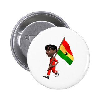 3D Ghana Pin