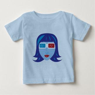 3D Girl Baby T-Shirt