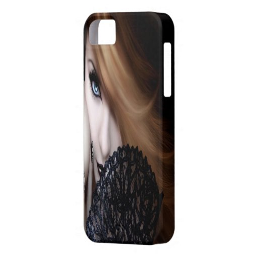 3D girl iPhone 5 Cover
